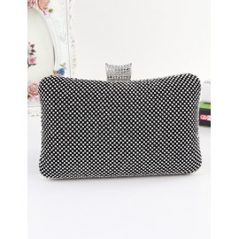 Smart Curve Diamante Finalize Metal Evening Bag