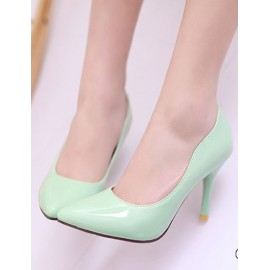 Seductive Pointed Toe Heel Shoes in Pure Color Size:34-39