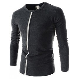 Simplicity Round Neck Long Sleeve T-Shirt