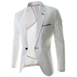 Simplicity Design Lapel Suit with Single Breasted