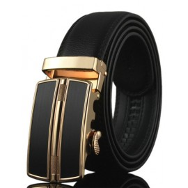 Formal Alloy Automatic Buckle Leather Belt For Men