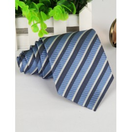 Modish Rice Panical Pattern Neck Tie with Arrow Shape