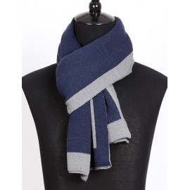 Gentlemanly All-Matching Scarf in Two Solid Color