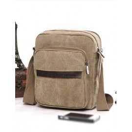 Simplicity Pocket Design Crossbody Bag For Men