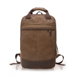 Fashion Concealed Zip Rivet Design Functional Backpack