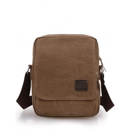 Simplicity Pocket Flap Crossbody Bag For Men