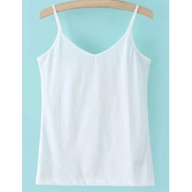Basic Pure Color Spaghetti Tank Top