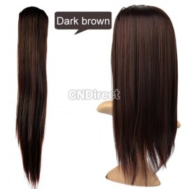 Womens Girls Straight Cosplay Party Fancy Dress Wig Full Hair Wigs Hairpiece