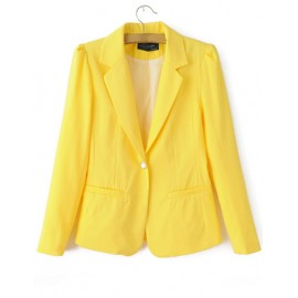 Elegant Slim Fit Blazer in Single Button